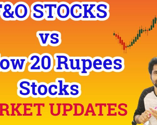 LARGE CAP vs PENNY STOCKS | MARKET NEWS and UPDATES | Tamil Share | Stocks For Intraday Trading