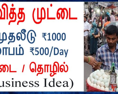 Boiled Egg 🥚 Healthy Business Idea | முதலீடு ₹1000 மட்டுமே | New Business Ideas in Tamil 2021